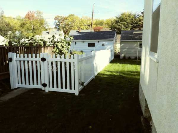 Strongest Vinyl Privacy Fences Fast Vinyl Picket Fence